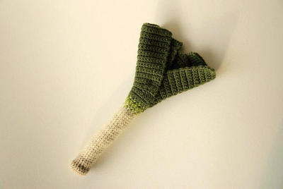Leek Crochet Pattern - Vegetable Crochet Pattern
