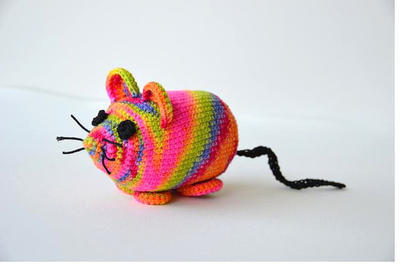 Monty the Mouse CROCHET PATTERN