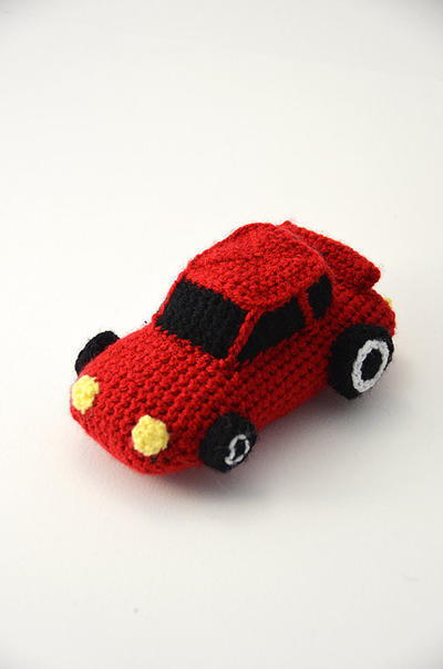 Race Car - Racecar - Car - Sports Cars - Amigurumi Toy