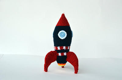 Rocket Crochet Pattern