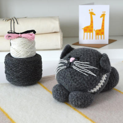 Luxury Little Kitten Amigurumi Crochet Kit