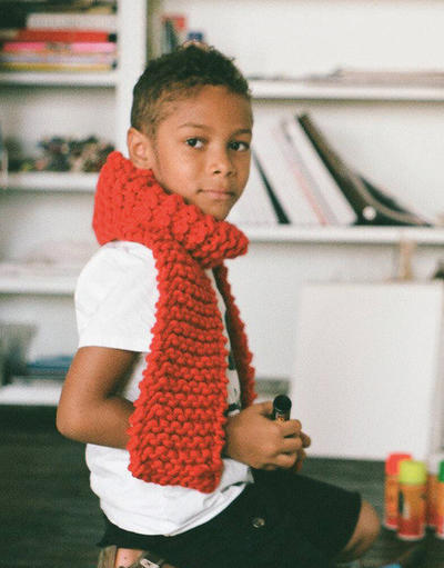 Foxy Roxy Kids Knitting Pattern