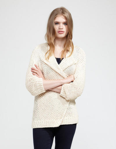 Jolie Mimi Cardigan Knitting Pattern