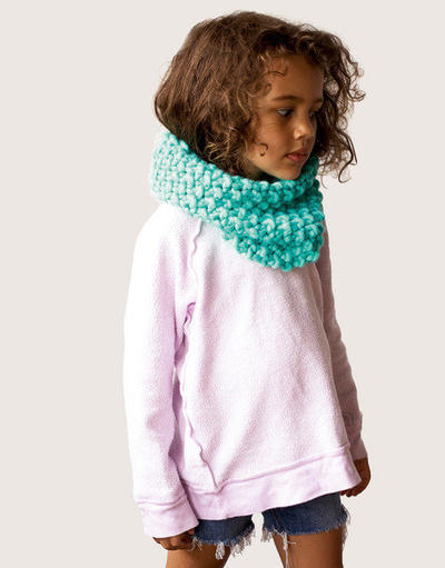 Snood Dogg Kids Knitting Pattern