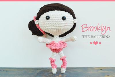 Ravelry: Amigurumi Ballerina Doll pattern by Tiny Mini Design   270x400