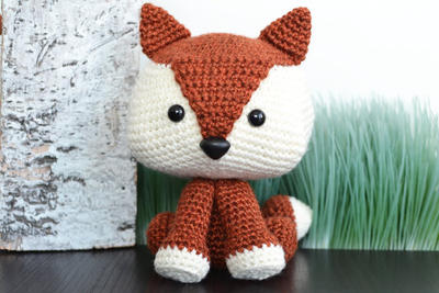 Felix The Fox Amigurumi Crochet Pattern
