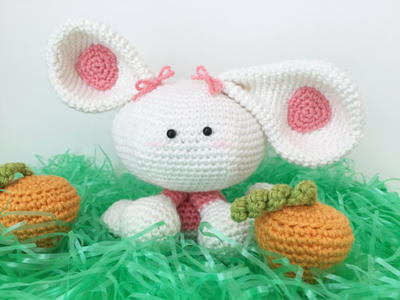 Rye The Rabbit Amigurumi Crochet Pattern