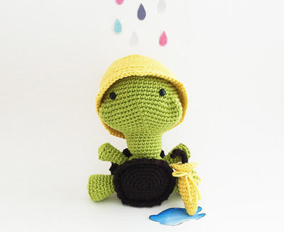 Tank The Turtle Amigurumi Crochet Pattern