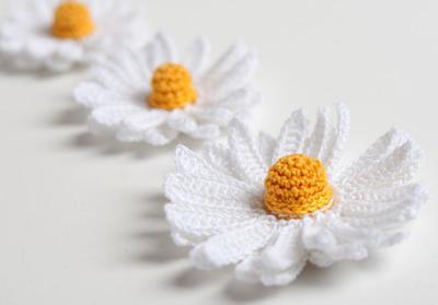 Crochet Pattern Daisy Flower