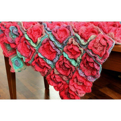 Crochet Pattern Summer Melody Blanket