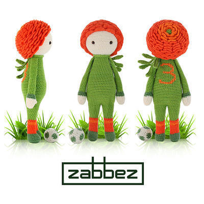 "Crochet pattern amigurumi doll ""Ranunculus Ronan"""