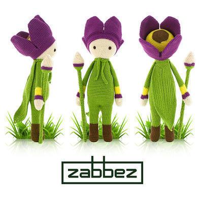 "Crochet pattern amigurumi doll ""Tulip Theo"""